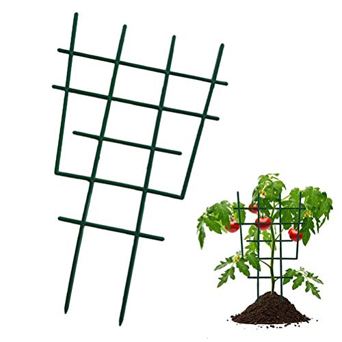 JIFNCR Garden Climbing Plant Support Stakes Support Cages Garden Trellis Mini Climbing Plant Pot SupportVertical Climbing Plants Support DIY Garden Supplies