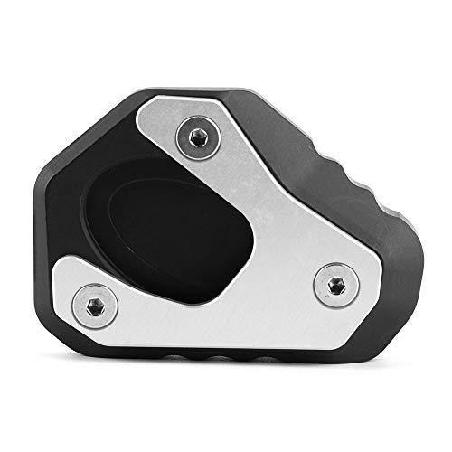 Pata de cabra para motocicleta, soporte lateral para motocicleta, placa de soporte, extensión de soporte alargador para 650 Z 650 2016-2020