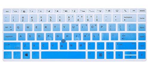 Película de silicona para teclado For HP EliteBook x360 745 845 1040 G4 G5 1050 G1 X360 G5 2019 nueva 14 pulgadas portátil teclado cubierta protectora de la piel Protección del teclado de la computado