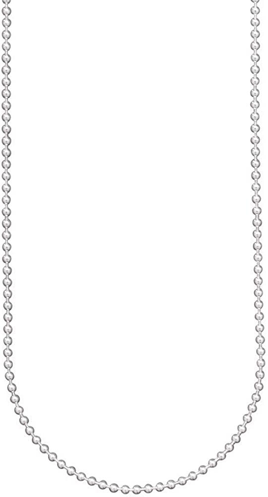 Waxing Poetic 25% OFF 1.2 All items free shipping mm Sterling Silver Bead Chain Necklace Ball -