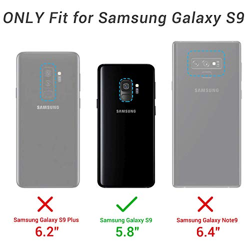 YOUMAKER Coque pour Galaxy S9, coque de protection robuste avec ...