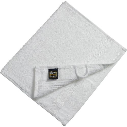 Myrtle Beach - lot 3 serviettes de toilette invité - blanc - 30 x 50 cm - MB420