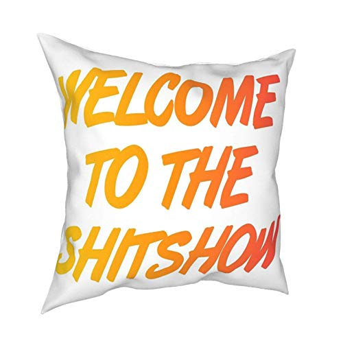 Benvenuto a The Shitshow Tapestry - Fodere per cuscini Fashion Square Federa Decor Fodera per cuscino 45 X 45 cm