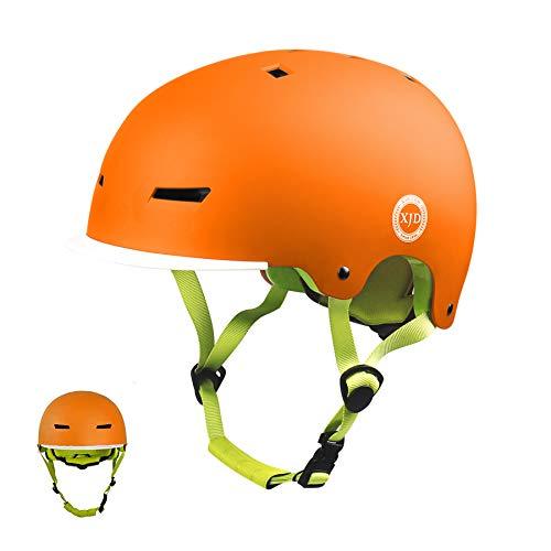 XJD Casco Bicicleta para Niños Ajustable con Certificación CE Resistencia al Impacto...