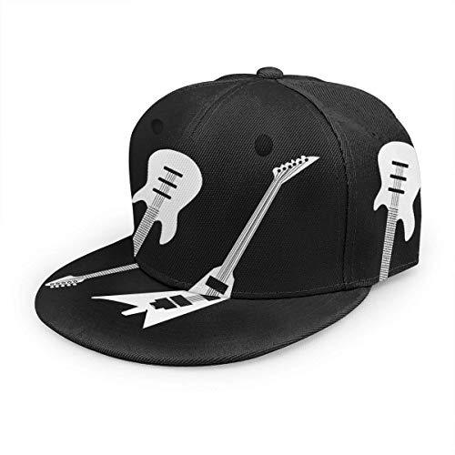Strapback Hat Guitarras Eléctricas De Verano para Adultos Gorra De Camionero Senderismo...