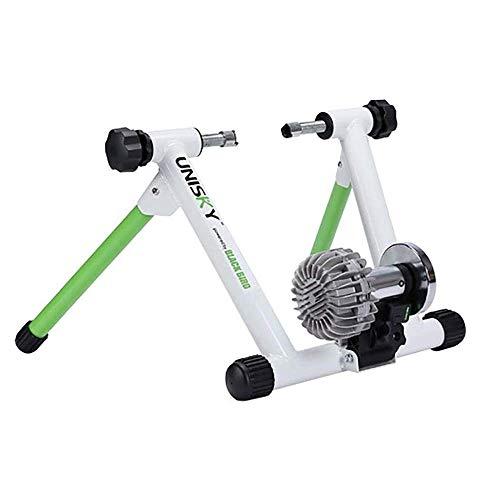Plataforma de formación en bicicleta rodillos ciclistas Ciclismo soporte portátil, ultra silencioso poder de resistencia líquida Plataforma para montar a caballo camino de la montaña Bicicletas Fits