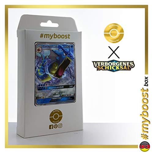Garados-GX SM212 - #myboost X Sonne & Mond 11.5 Verborgenes Schicksal - Coffret de 10 Cartes Pokémon Allemandes