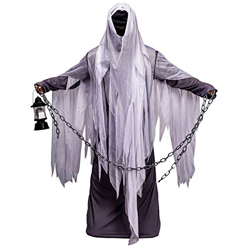 SEA HARE Halloween Gespenstischer Geist Kostüm für Herren