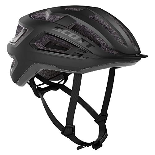 Scott 275195 - Casco de Bicicleta Unisex para Adulto, Negro, L