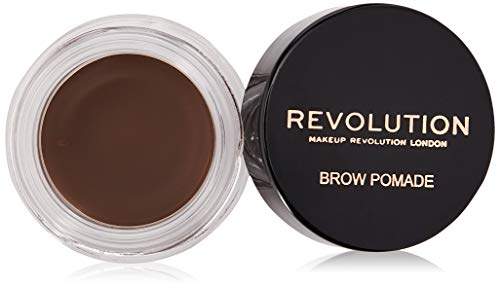 MAKEUP REVOLUTION Brow Pomade Dark Brown, 3 g