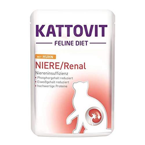 Kattovit PB Feline Diet Niere/Renal mit Huhn 85g (Menge: 24 je Bestelleinheit)