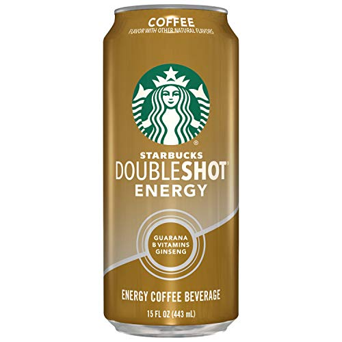 Starbucks, Doubleshot Energy Drink, Coffee, 15 oz cans (12 Pack)