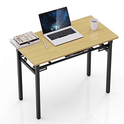 Elekin Escritorio Plegable, Mesa Plegable Mesa para Ordenador Mesa Plegable para Oficina Mesa Plegable para Ordenador portátil Mesa de Trabajo para jardín en casa Oficina en casa Sala de Estar