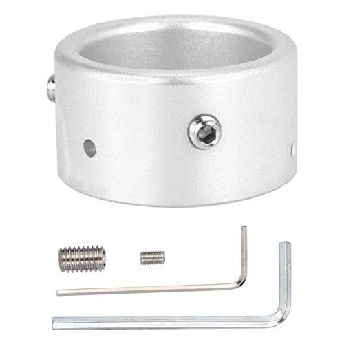 DAUERHAFT Antena de aleación de Aluminio Alarma antirrobo Dispositivo antirrobo de Antena de Coche fácil de Instalar, para Antenas con una Base Entre 2-3 cm(Silver)