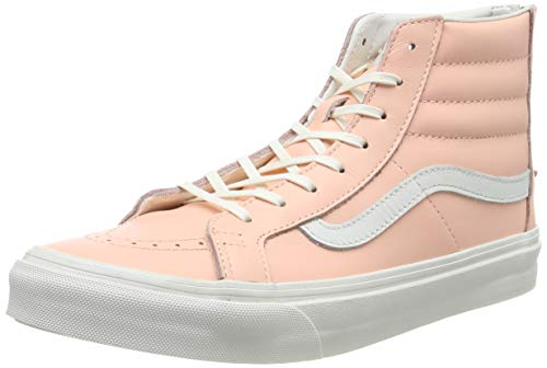 Vans Herren Sk8-Hi Slim Zip VXH8JMZ High-Top, Orange ((mlx) Leather/Peach Melba), 39 EU