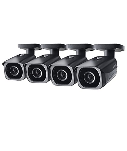 Best Prices! 4-Pack of Lorex 8MP 4K IP Motorized Varifocal Zoom Bullet Security Camera LNB8973BW, 25...