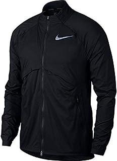 b9e80260c48c Nike Shield Convertible Men s Running Jacket Black Size XL 891432-010