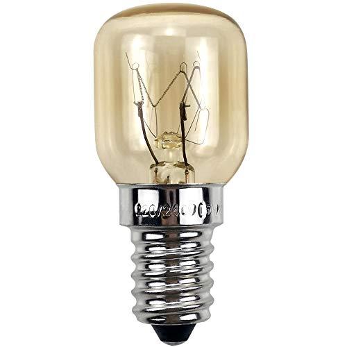 BrightBulb Four Ampoules E14 220V Pour Micro-Ondes Réfrigérateur Cuisinière Applications Hotte 300 Degree 4 Pack-Argent-25W