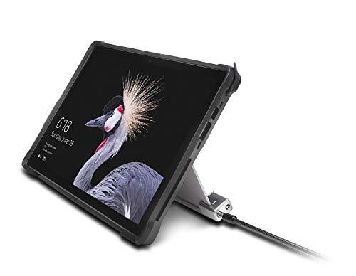 Kensington K62044WW Kabelschloss (für das Microsoft Surface Pro und Surface Go, mit aufbruchsicherer Verriegelungstechnologie, starkem Schließkopf und Carbonstahl-Kabel, 1,8 m Länge)