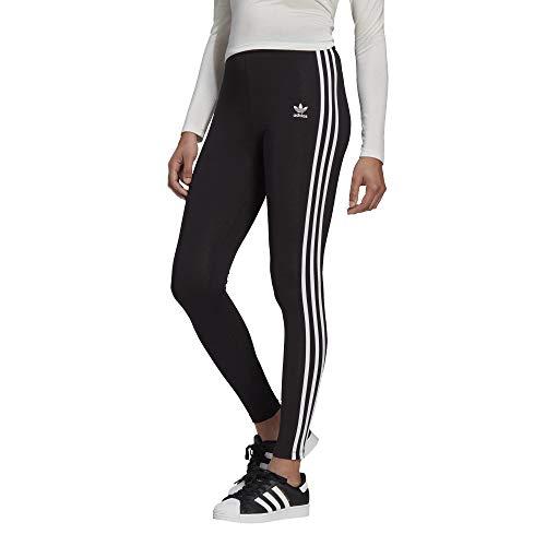 adidas 3 Stripes Tights Leggings (36, black)