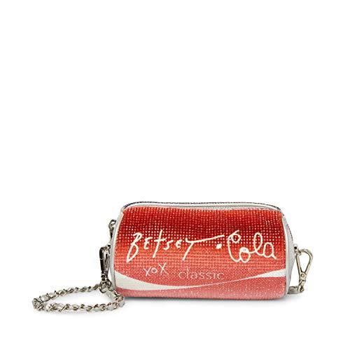 Betsey Johnson Betsey Cola Crossbody, Red