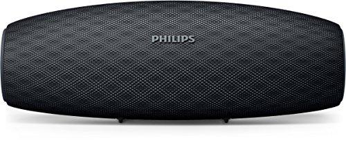 Philips Everplay BT7900B Enceinte Bluetooth Waterproof, Antichoc, avec Dragonne USB, 10h Autonomie, Noir