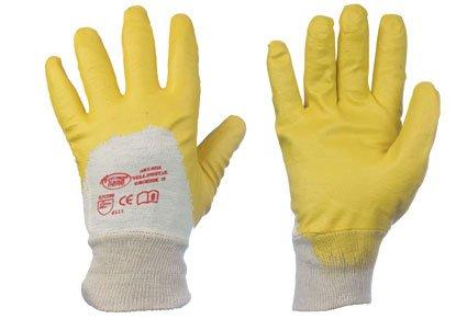 12 Paar Stronghand - Arbeitshandschuh Yellowstar Gr.10