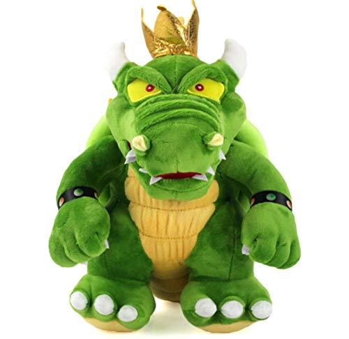 okuba fire Dragon Plush Toy,Green Color.