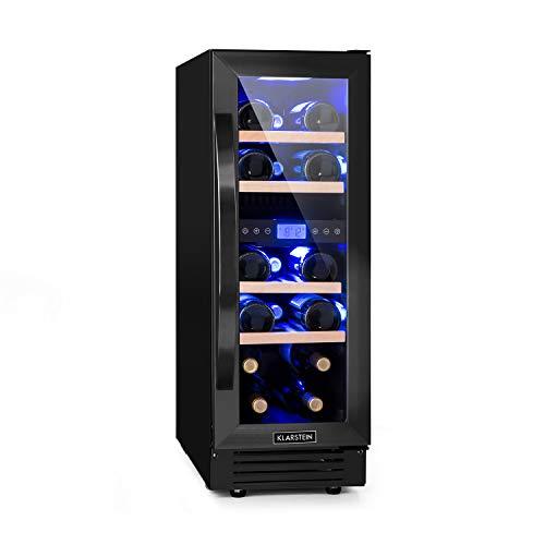 Klarstein Vinovilla Onyx 17 nevera para vinos con puerta acr