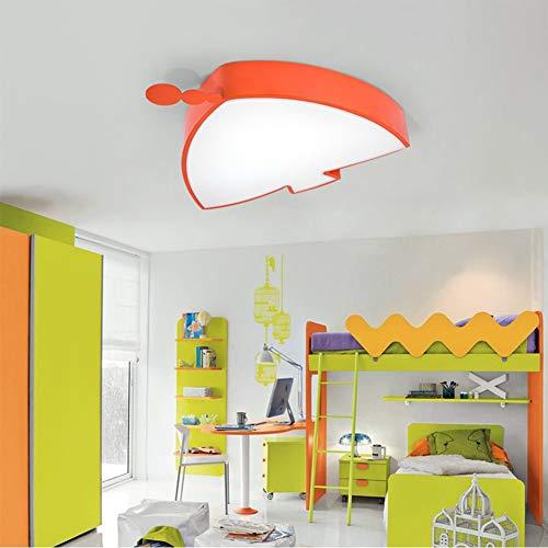 CELIGHT Deckenleuchte Kreative Fisch-geformten LED-Eye-Schutz-Schlafzimmer-Lampe Cartoon Pool Kindergarten-Lampen, orange
