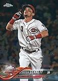 2018 Topps Chrome Update #HMT91 Scooter Gennett Cincinnati Reds Baseball Card