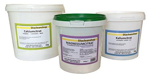 Citrat Set - Magnesium - Kalium - Calcium
