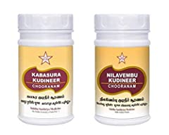 ✅ Combo Pack SKM Kabasura Kudineer 100g and Nilavembu Kudineer Powder 100g -New ✅SKM Kabasurakudineer Powder is a coarse powder, pale brown in Color with characteristic odour and very bitter taste. Useful for all gender 100% Chemical Free Powder That...