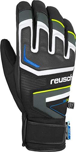 Reusch Thunder R-TEX XT Handschuhe, Dark Granite/Safety Yellow, 9.5