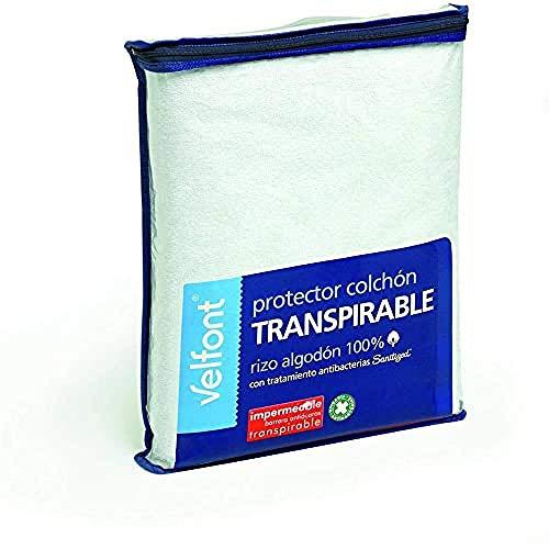 Velfont Protector Transpirable de colchón 105