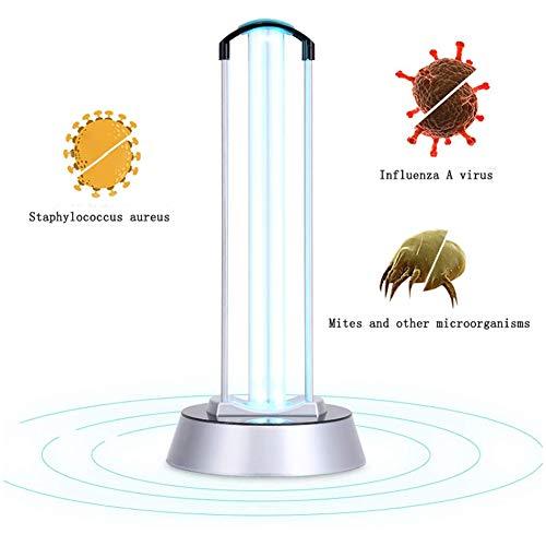 GODLV UV-sterilisator ozon sterilisatie luchtreiniger UVC lamp ozon 40 W voor huis luchtreiniger desinfectie bacteriën, microben en virussen, 230 V