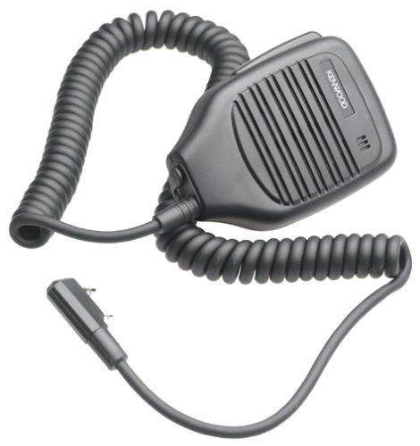 Kenwood Electronics KMC-21 Kopfhörer und Mikrofon, Monophonisch, Schwarz – Kopfhörer und Mikrofon (kabelgebunden, Monophonisch, Schwarz)