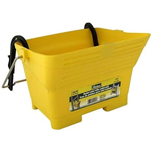 Richard 92095 Mini Roller Paint Pail with Hooks For Any Type of Ladder, 6'