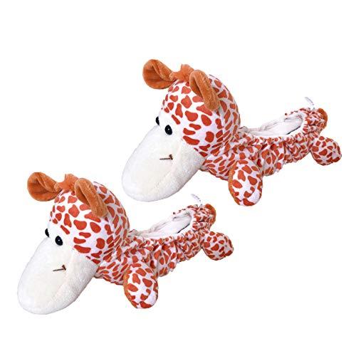 FITYLE Animale Pattinaggio di Soaker Lama Blankie Pattini da Ghiaccio Lame Anti-Ruggine Chipping Coperture di Protezione per I Bambini I Bambini - Cane
