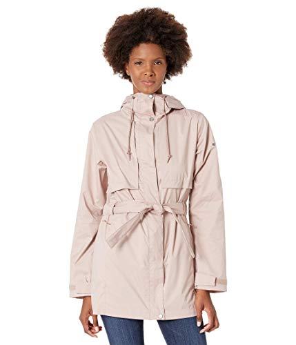Columbia Women's Pardon My Trench Rain Jacket, Breathable, Lightweight, Mauve Vapor, Large