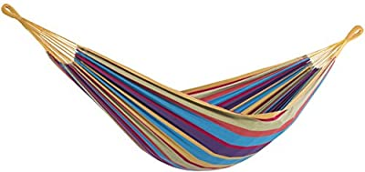 Vivere BRAZ120 Single Brazilian Hammock, Tropical