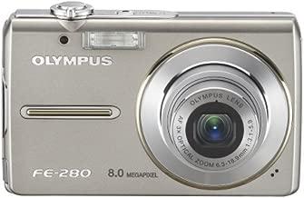 Olympus Stylus FE-280 8MP Digital Camera with Dual Image Stabilized 3x Optical Zoom (Silver)