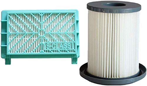 BIGBIGWORLD Filter Element, HEPA Filters+Filter Element voor Philips FC8720 Stofzuiger Vervangende Onderdelen, 1x Pchepa Flter, 1x Flter Element