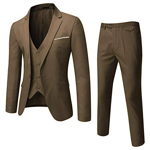 Tommy Hilfiger Men's Jacket Modern Fit Suit Separates with Stretch-Custom Jacket & Pant Size Selection, Deep Blue Plaid, 38R