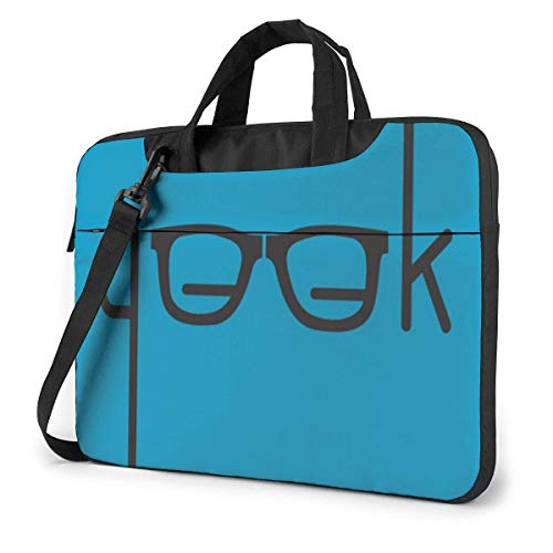 G.EE.k Estuche para computadora portátil de 15,6 Pulgadas Bolso de Mano para computadora Bolso Bandolera para Viajes de Negocios