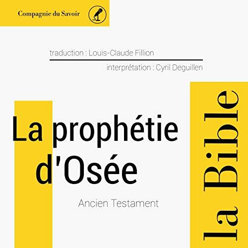 La prophétie d'Osée cover art