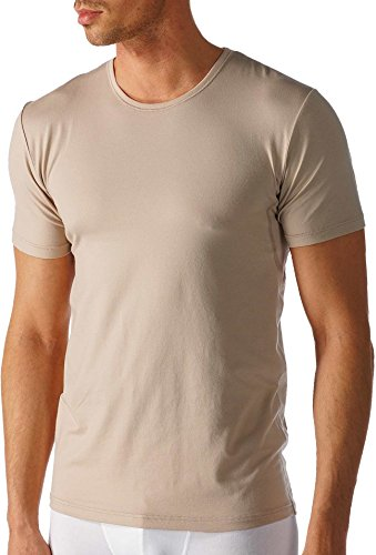 Mey - Herren Round-Neck Business Shirt ''Dry Cotton Functional'' beige/Light Skin (Das ''Drunterhemd'') 6
