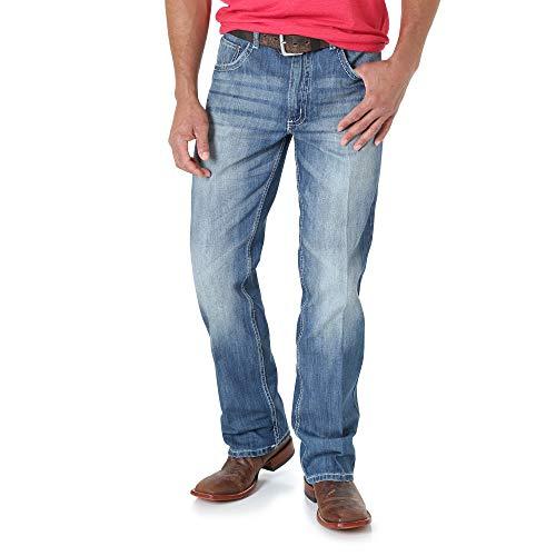 Wrangler mens 20x No. 42 Vintage Boot Cut jeans, Light Blue, 32W x 36L US