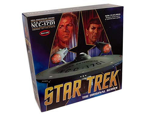 Polar Lights - Star Trek TOS Enterprise 50th Anniversary Edition, 1:350 (POL938)