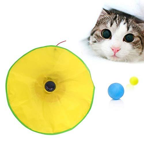 Eulbevoli Juguete para Gatos, ratón encubierto de Tela de Nailon Debajo de la Manta Juguete para Gatos para Gatos